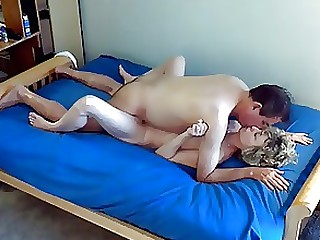 Amateur Blonde Boyfriend Friends Fuck MILF