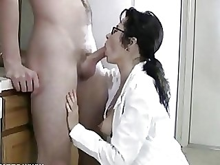 Ass Blowjob Cumshot Glasses MILF Mouthful Full Movie