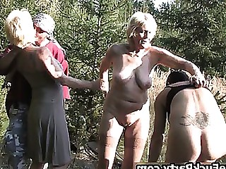 Amateur Group Sex Hardcore Horny Housewife Mature Outdoor Wife