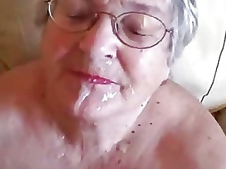 Amateur Big Cock Facials Granny Mature Old and Young Really Stunning