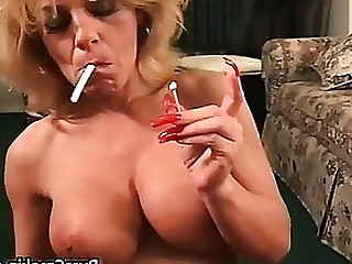 Amateur Blowjob Boobs Fetish Mature MILF Oral Smoking