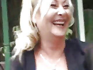 Beauty Blonde Hardcore Mammy Mature Outdoor Public