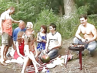 Group Sex Mature Outdoor