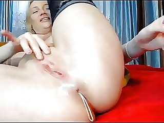 Anal Chinese Dildo MILF Toys Webcam