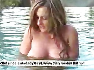 Blonde Hardcore MILF Pool Sleeping