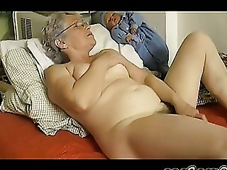 Amateur BBW Fatty Granny Masturbation Mature Solo Toys