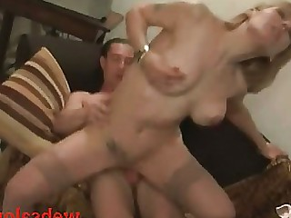 Blonde Casting Little MILF Wife