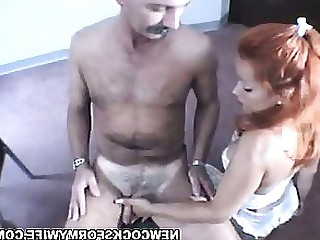 Group Sex Handjob Housewife MILF Pornstar Redhead Wife