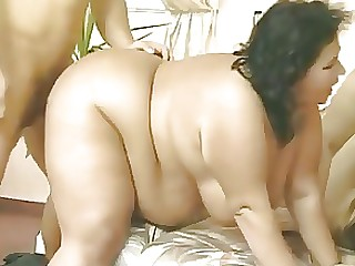 BBW Group Sex Mature