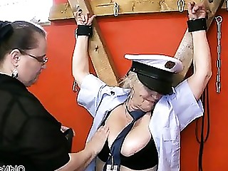 BDSM Blonde Brunette Granny Horny Lesbian Mature Office