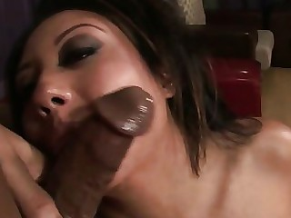 Black Blowjob Big Cock Ebony Foursome MILF Sucking