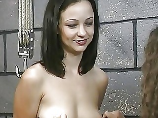 BDSM Brunette Chick Juicy Lingerie MILF Nylon Punished