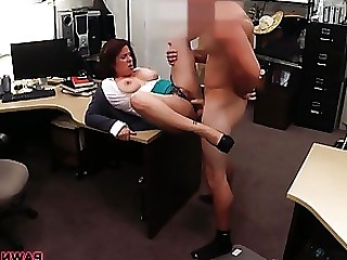 Brunette Cash Hardcore Hot MILF Public Wife
