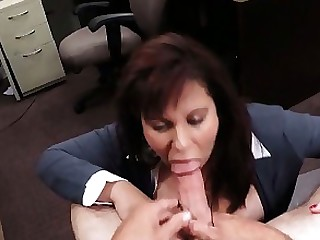 Ass Blowjob Boobs Brunette Cash Fuck MILF POV