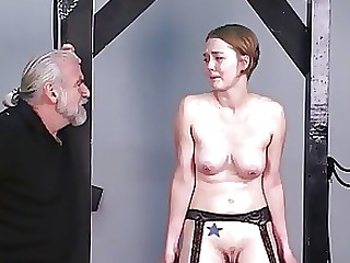 BDSM Blonde Boss MILF Nylon Old and Young Teen Train
