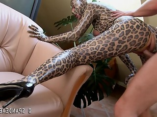 Big Cock Cougar Creampie Doggy Style Fetish High Heels Latex Mammy