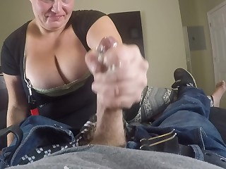 Big Tits Blowjob Boobs Chick Big Cock Cumshot Deepthroat BBW