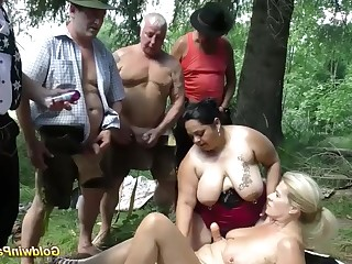 Amateur Blonde Bukkake Crazy Deepthroat BBW Fatty Gang Bang