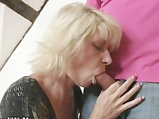 Blonde Daughter Granny Mammy Mature MILF Old and Young Seduced