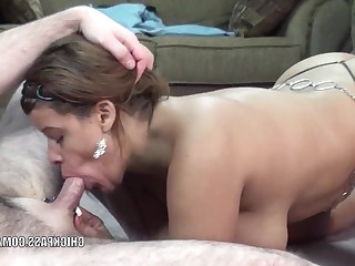 Amateur Angel Blowjob Curvy Homemade Mature MILF Oral