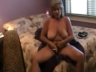 Blonde BBW Fuck Mammy Mature Smoking