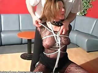 BDSM Big Tits Boobs Brunette Fetish Lingerie Mature Natural