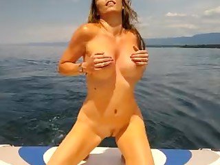 Amateur Blonde Car Interracial MILF Outdoor Public Striptease