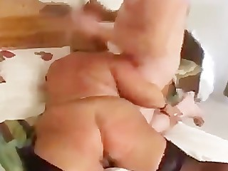 Anal Couple Cumshot BBW Granny Horny Hot Mature