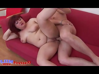 Amateur Mammy Mature MILF Redhead Threesome