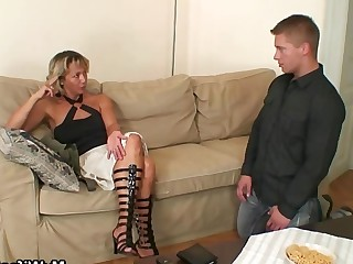Big Cock Granny Horny Hot Mammy Mature MILF Old and Young