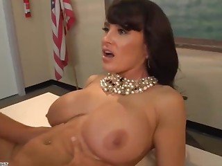 Big Tits Boobs Brunette Juicy Mammy MILF Pornstar Teacher
