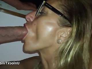 Amateur Ass Babe Blowjob Big Cock Glasses Homemade Juicy