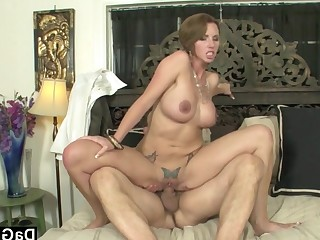 Big Tits Blowjob Boobs Brunette Bus Busty Big Cock Cougar