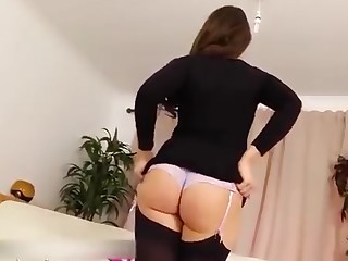Ass Black Brunette Dress Erotic High Heels Hot Juicy